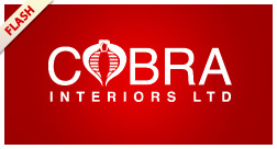 Cobra Interiors Ltd. Flash Website