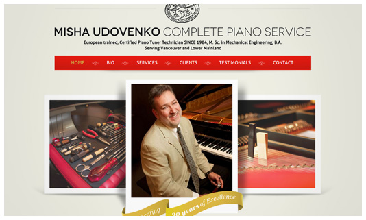 Misha Udovenkos Website