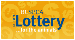BC SPCA Lottery For The Animals Website