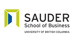 Sauder School Of Business University Of British Columbia